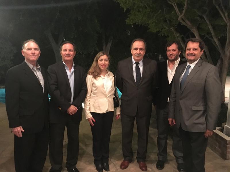 Steve Solot, Mario Lázzaro, Dania Bonadeo. Ministro Tezanos, Juan Pablo Astie, Guillermo Rodriguez