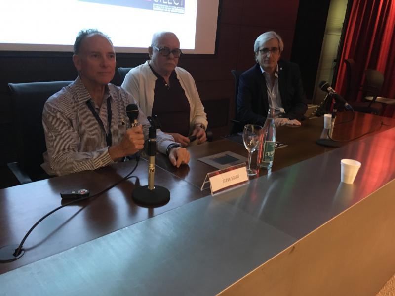 Steve Solot, Silvio Fischbein, Mario Santos