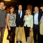 Sérgio Sá Leitão, Samuel Ossa, Macarena Acharan , Kate Lyra, Municipal Coordinator International Relations Laudemar Aguiar, Steve Solot