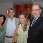 Casais Rubeny Goulart e Francisco Teixeira