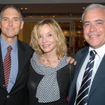 Steve Solot, Kate Lyra e o Cônsul dos EUA Sr. Dennis Hearne