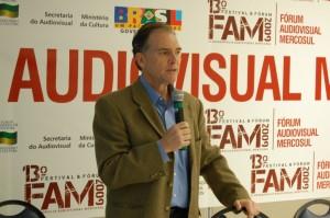"""Steve Solot apresentou uma palestra sobre """"Novos Modelos de Negócios no Audiovisual"""""""