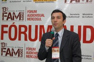 """Fábio Cesnik comentou os """"Mecanismos de Financiamento ao Audiovisual no Brasil"""""""