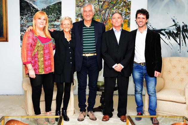 Liliana Bartolucci, Ana Aizenberg, Alberto Rodríguez Saá, Steve Solot, Martín Ferrari