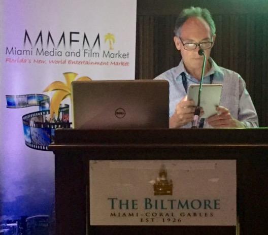 Steve Solot, Presidente-LATC, durante o anúncio.